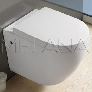 Унитаз подвесной 550*360*425 MELANA (сиденье микролифт, межосевое 180)