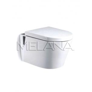 Унитаз подвесной 560х380х340 MELANA (сиденье микролифт, межосевое 180)