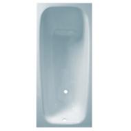 Ванна чугунная Новокузнецк белая 1700*750*390 с ножками